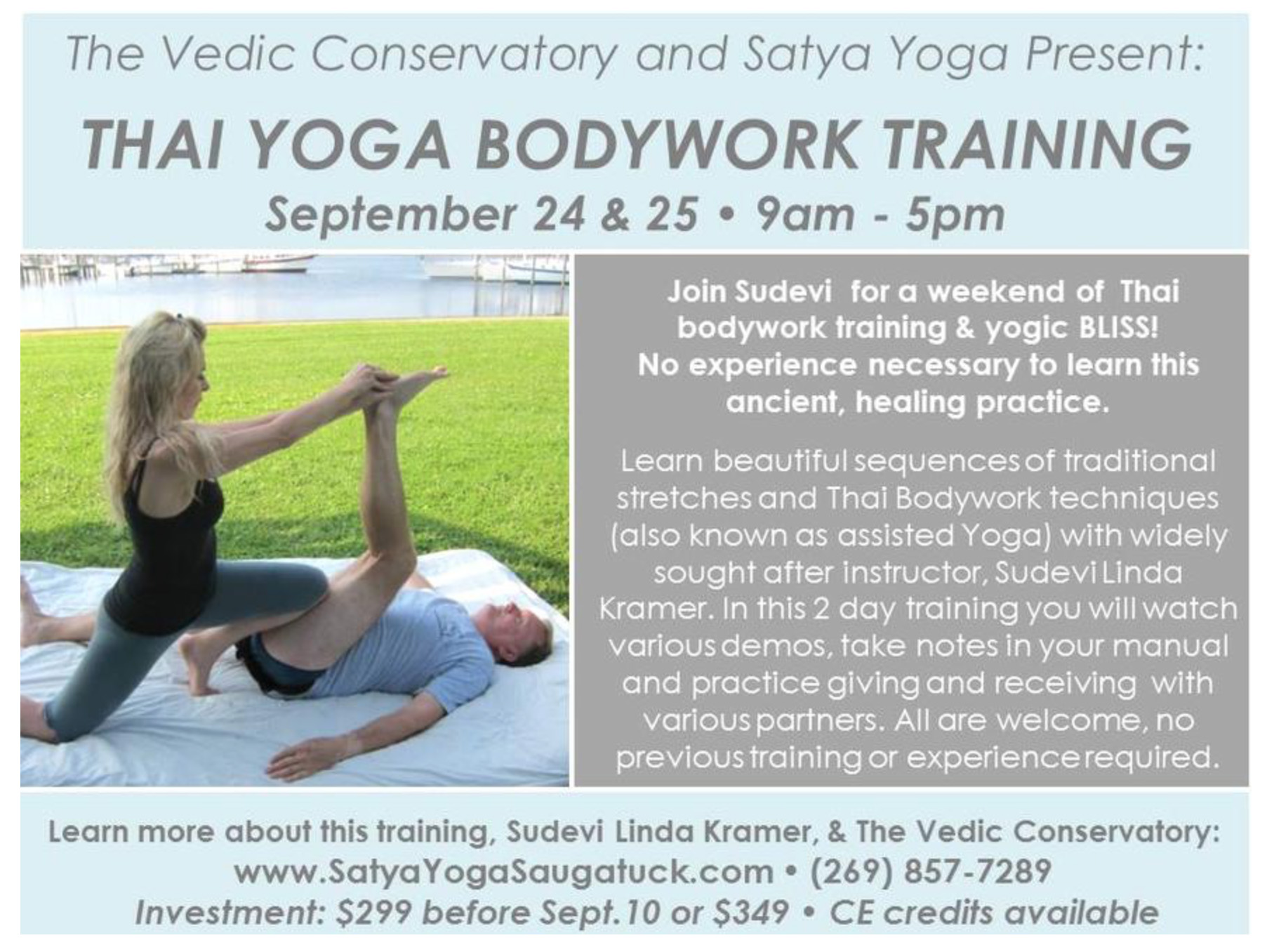 Vedic Conservatory all schedule